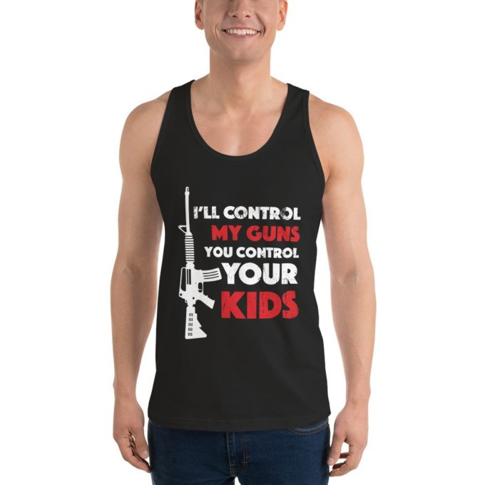 I'll Control My Guns Tank Top