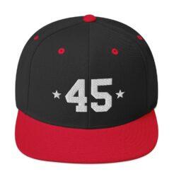 Trump 45 Snapback Hat