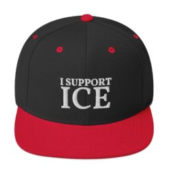 I Support ICE Snapback Hat