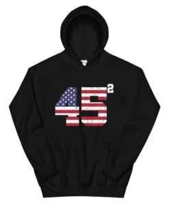 Trump 45 Second Term Hoodie
