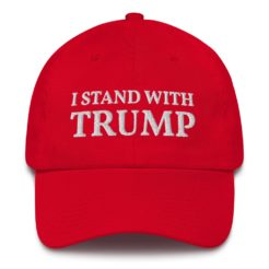 I Stand With Trump Hat