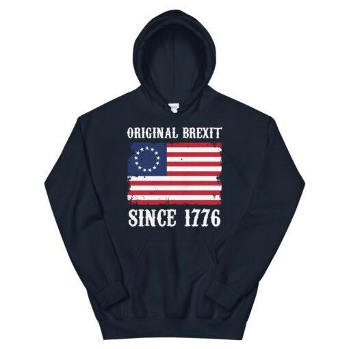 American Brexit 1776 Hoodie