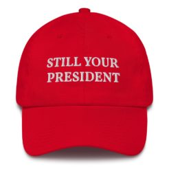 Remind Liberals that Trump is still their president with this Trump Still Your President Hat.