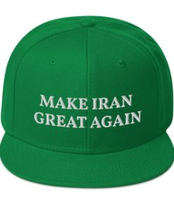 Make Iran Great Again Snapback Hat