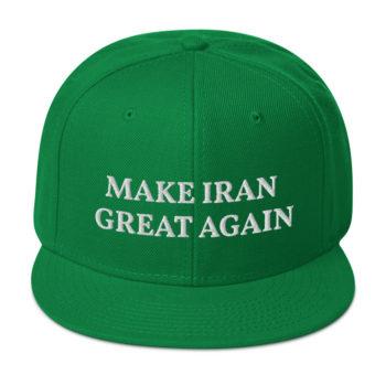 Make Iran Great Again Snapback Hat