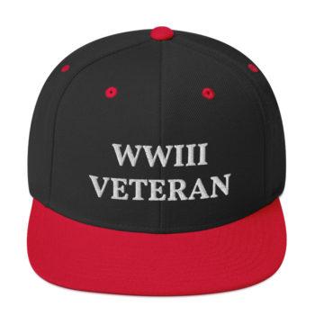 WWIII Veteran Funny Snapback