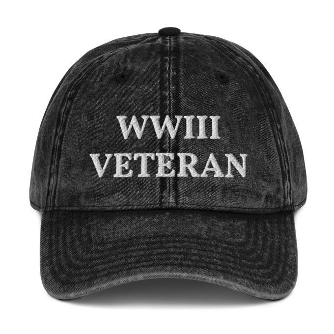 World War 3 Veteran Funny Hat