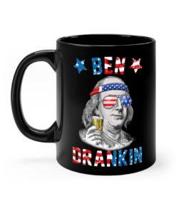 Ben Drankin 4th of July Mug