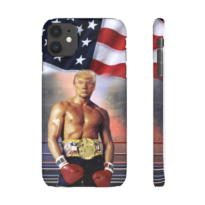 Trump Rocky Body Phone Case