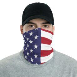 American Flag Neck Gaiter