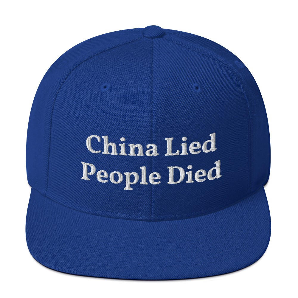 China Lied People Died Snapback