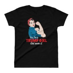 Trump Girl Ladies' T-shirt