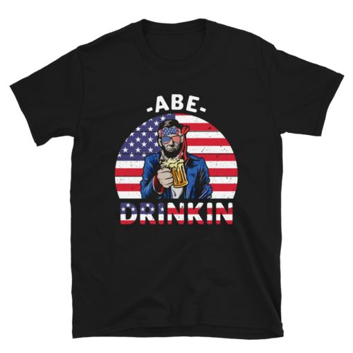 Abe Franklin Funny 4th July T-Shirt
