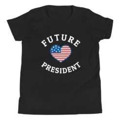 US Future President Kids T-Shirt