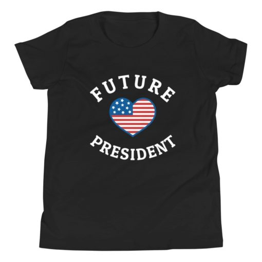 US Future President Kids T-Shirt