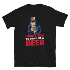 Uncle Sam Funny Beer T-Shirt