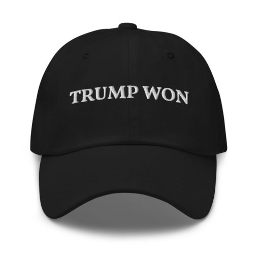 Trump Won Anti Biden Hat